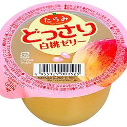 日本進口水果果凍-白桃口味6入/盒