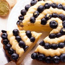 法式純手工藍莓塔 6吋