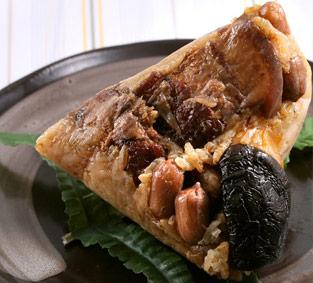 古早味栗子蛋黃肉粽