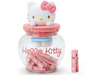 Kitty罐裝木夾組
