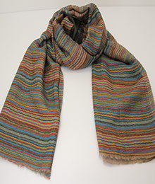 喜馬拉雅純羊毛圍巾