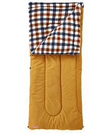 Coleman 0℃ 棕格紋刷毛睡袋