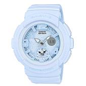 CASIO Baby-G粉藍霧面錶