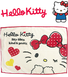 Hello Kitty保暖毛毯