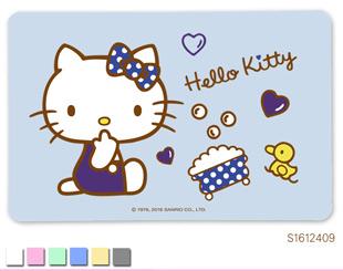 Hello Kitty珪藻土吸水地墊