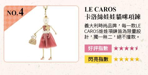 Le Caros卡洛絲娃娃❤貓咪項鍊 義大利時尚品牌,每一款Le Caros娃娃項鍊皆為限量設計,獨一無二,決不撞款