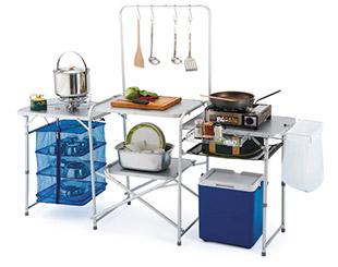 行動料理桌組合 露營/戶外休閒 廚房組