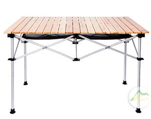 杉木桌面蛋捲桌
