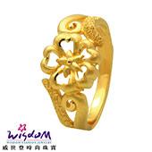 *幸運花朵* 黃金戒指1.29錢