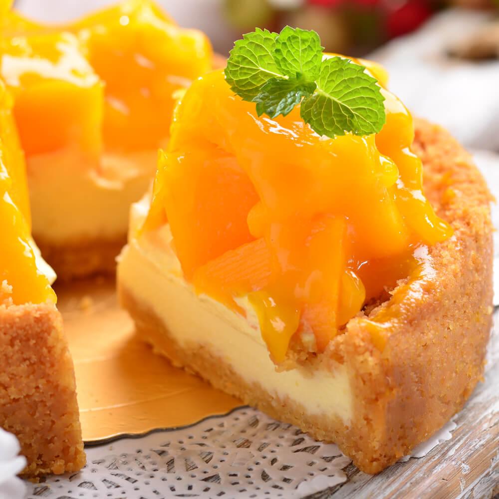 仲夏黃金芒果乳酪