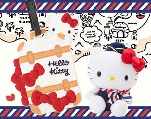 Hello kitty 空服員遊世界