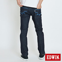 EDWIN 503 EDGE LINE 漸層基本 窄直筒牛仔褲
