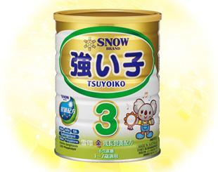 雪印 金強子3號奶粉
