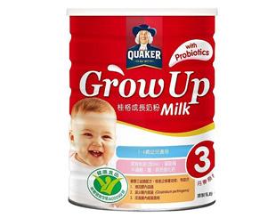 桂格grow up 成長奶粉三益菌配方
