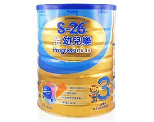 惠氏S-26金幼兒樂奶粉3號