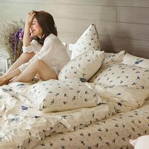 浪漫玫瑰花色床包組