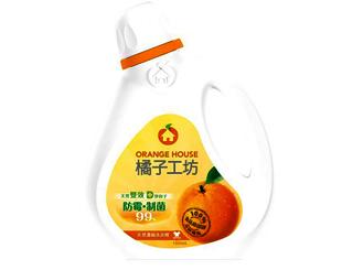 橘子工坊天然制菌濃縮洗衣精