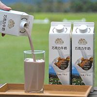 初鹿牧場|巧克力牛奶