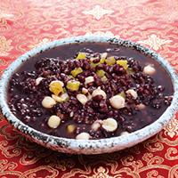 紅豆紫米甜湯