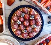 卡士達鮮奶油草莓塔