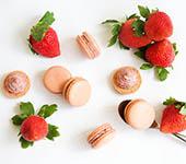 YUZU減糖草莓馬卡龍