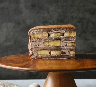 豬尾巴日式千層蛋糕