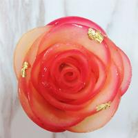 浪漫玫瑰塔6吋
