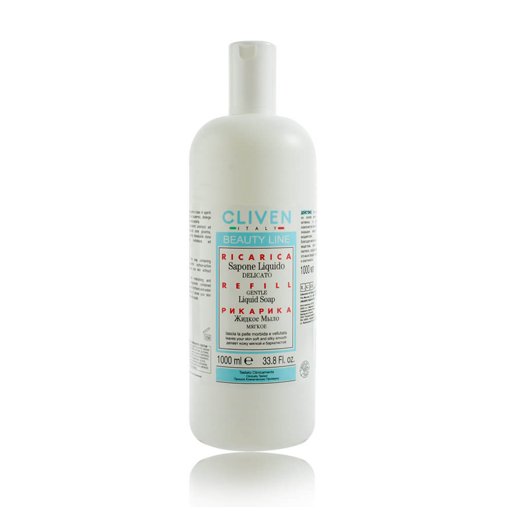 CLIVEN香草森林-羊毛脂+牛奶乳清蛋白沐浴乳1000ml