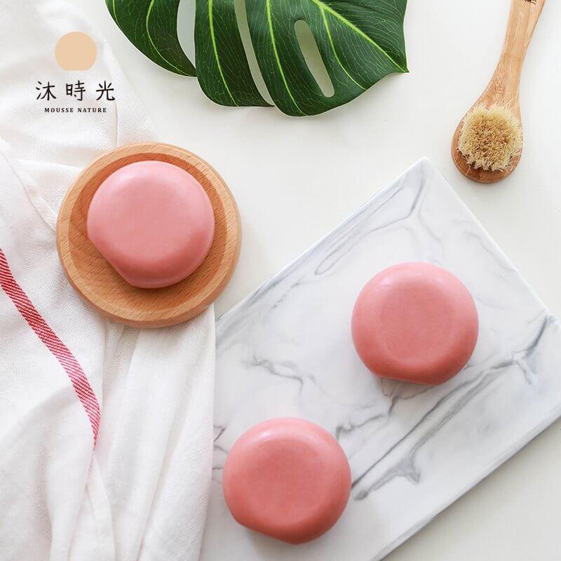 沐時光溫泉櫻花皂