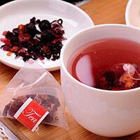 果粒茶包4種口味