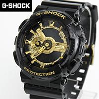 G-SHOCK黑金雙顯錶