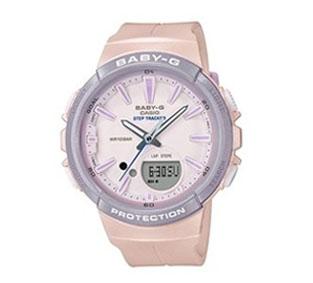 Baby-G  防水計步時尚雙顯女錶