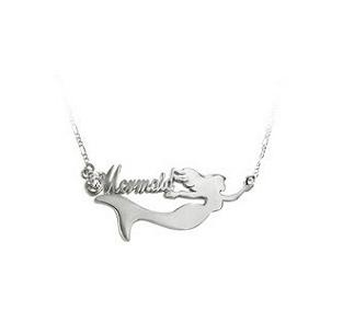 美人魚款姓名項鍊