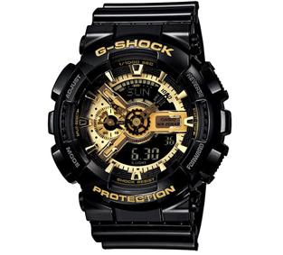 G SHOCK 變形金剛黑金重型休閒錶