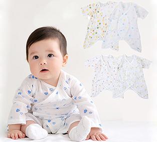 新生兒必備!純棉透氣輕薄紗布蝴蝶衣