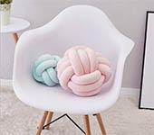 北歐風編織球 沙發靠枕