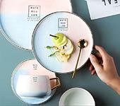 彩雲系列陶瓷碗盤
