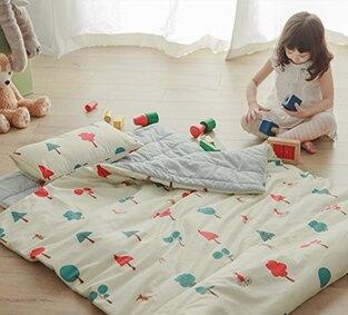 韓系純棉兒童鋪棉睡袋