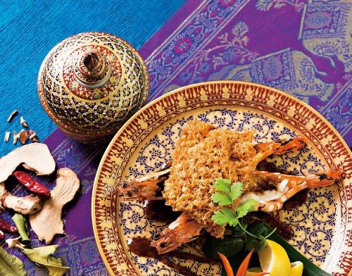 泰式魚酥烤明蝦