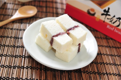 紅豆牛奶蛋糕