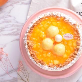 六吋【多茄米拉★芒果重乳酪】酸甜芒果搭配濃郁乳香的重乳酪~新鮮酸甜滋味絕對是消暑聖品 - 限時優惠好康折扣