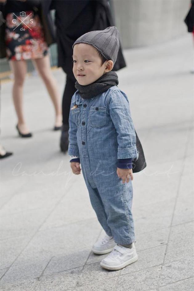 小孩 首爾時裝周