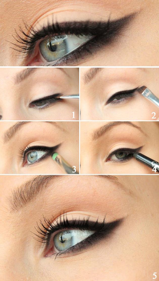 Smudged-Eyeliner