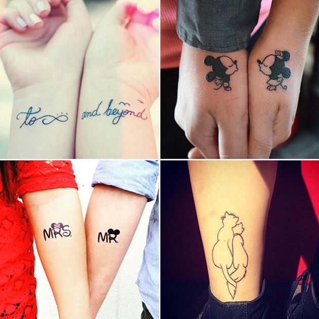 Disney-Couple-Tattoos