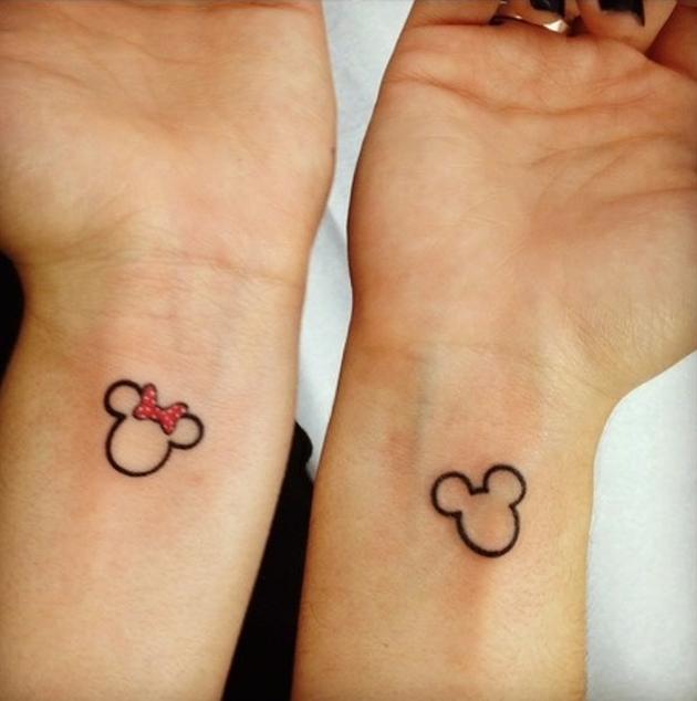 Mickey-Minnie-Outline