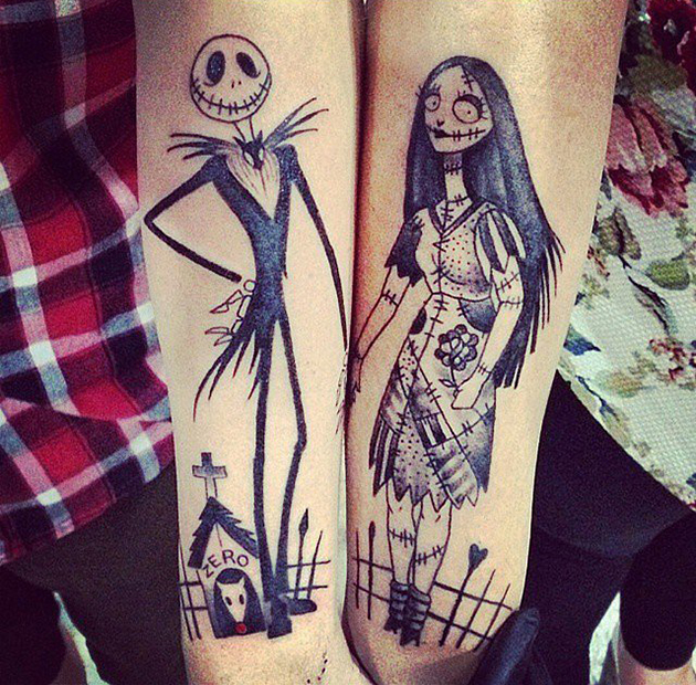 Nightmare-Before-Christmas-Tattoos