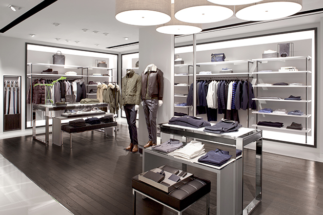 B1F Mens Floor at Michael Kors Ginza Flagship Store