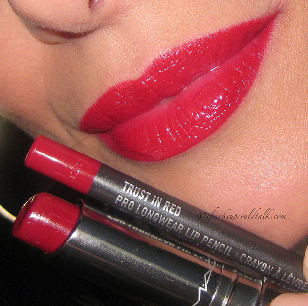 MAC Huggable Lipcolour In Red Necessity