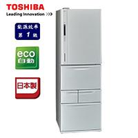 TOSHIBA 日本原裝428L 智慧變頻五門