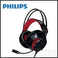 飛利浦 PHILIPS SHG8000 輕量式重低音 電競耳機麥克風